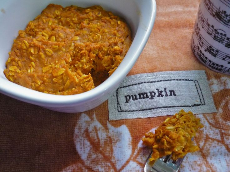 Pumpkin Oatmeal | Recipes to try | Pinterest