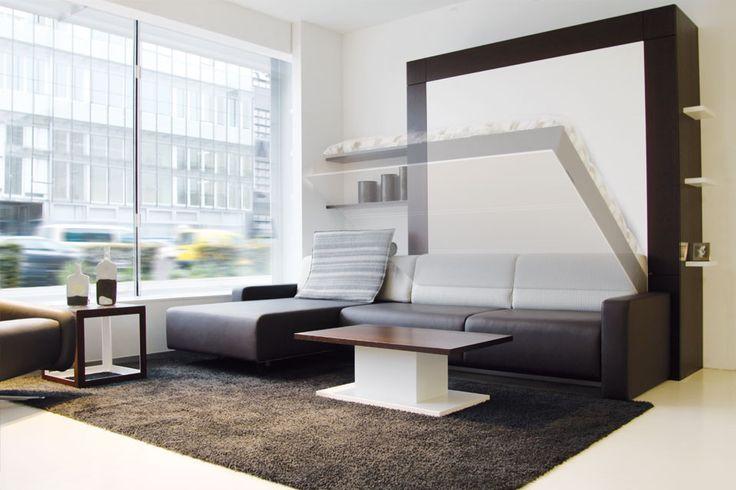1000 ideas about murphy betten auf pinterest klappbett schlafsofas und klappbett pl ne. Black Bedroom Furniture Sets. Home Design Ideas