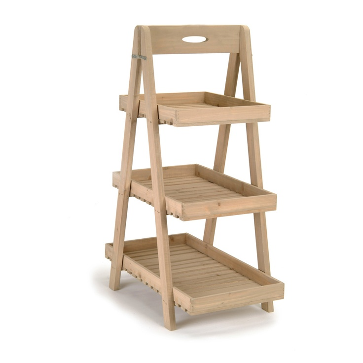 Tiered Tray Stand Creative Co Op Da4439 Wood 2 Tier Tray