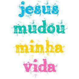 Estampa para camiseta Religiosa 001561                                                                                                                                                                                 Mais