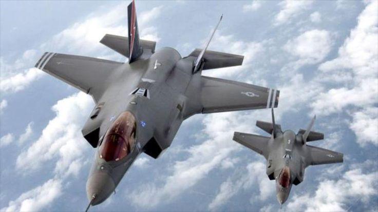 Dos aviones furtivos F-35 Lightning II, de fabricación estadounidense.China desarrolla un sistema de radar que utiliza entrelazamiento cuántico para detectar los aviones modernos furtivos, reportó el jueves la agencia china Xinhua.