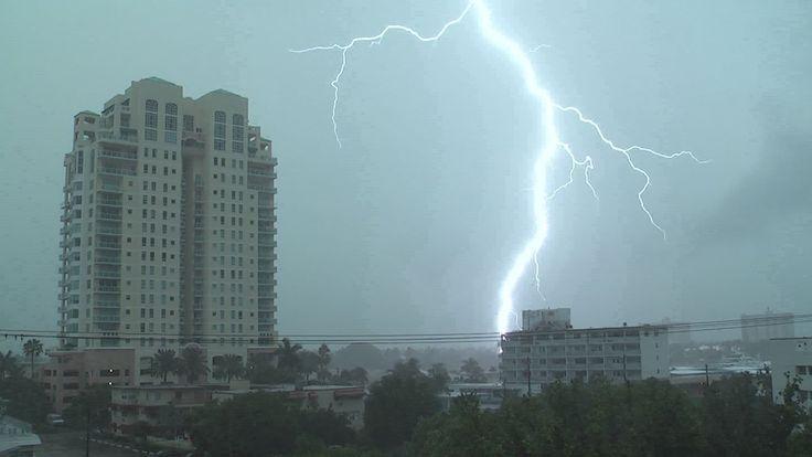 Severe Thunderstorm and Lightning | Severe Thunderstorms Intense Lightning- Ft. Lauderdale, FL 8.3.12 ...