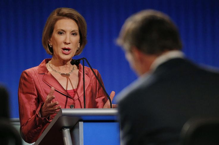 LIAR. Republican presidential candidate and former Hewlett-Packard CEO Carly Fiorina. Relates a story about Planned Parenthood that is false.  A lie.  She claims to have seen footage... there is NO SUCH FOOTAGE.  Check the facts people.. it is not that difficult anymore in this 'age of information'.