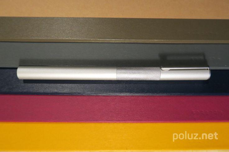 Muji aluminium fountain pen (long)