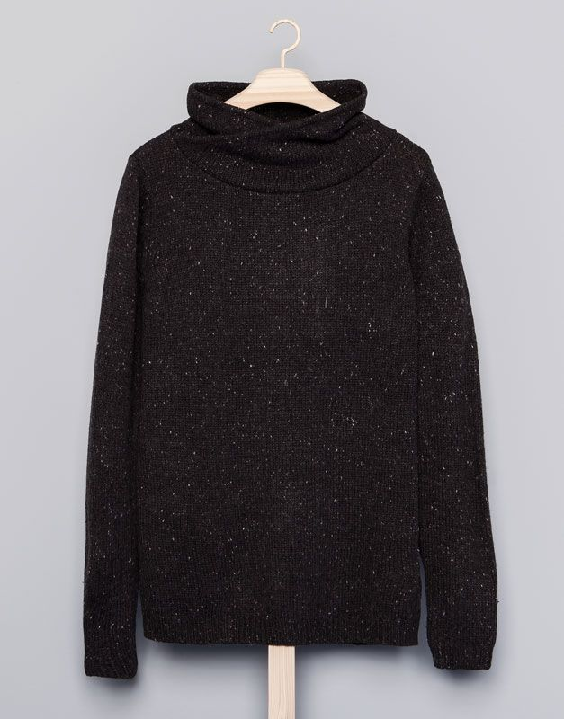 :PULL COL CHEMINÉEhommes