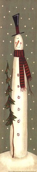 *SNOWMAN ~ A Tree for You  Fine-Art Print