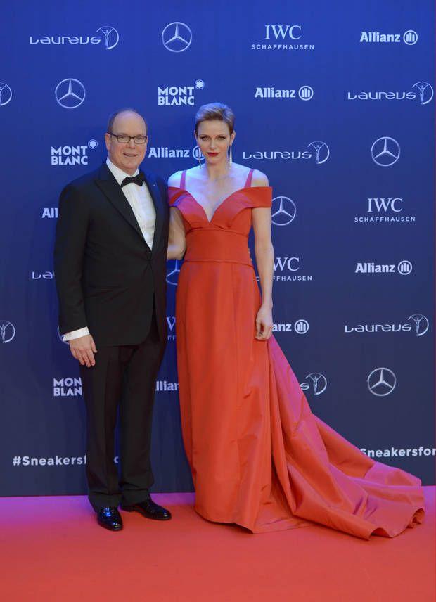 Fürst Albert und Fürstin Charlene