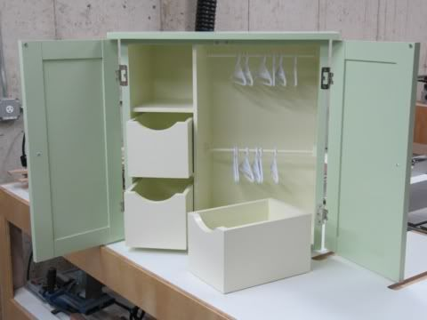 Maren's Christmas? Doll Wardrobe Project: Done! « Modern Woodshop