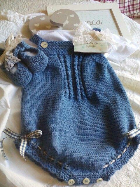 Ranita en algodón! , de blancaypunto! Talla 6 meses! Hecho a mano.
