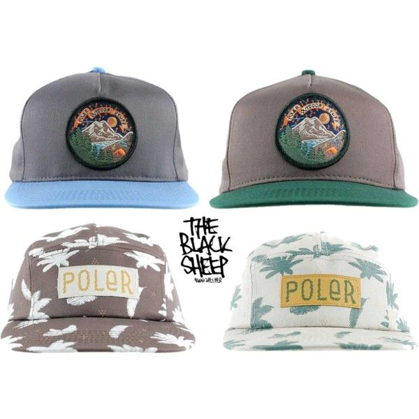 New Poler Hats In, Take A Closer Look Over On Our Website. by blacksheepstore on Polyvore