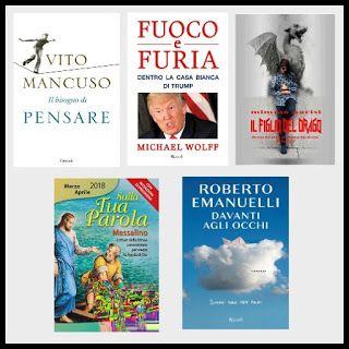 CHITARRE20: Libri preferiti dai lettori del 2018