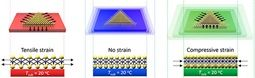 The Science Compressing a semiconductor to bring atoms closer together or stretching it to move them farther apart can dramatically change how electricity flows and how light is emitted. Scientists found an innovative way to compress or stretch very thin (monolayer and bilayer) films of tungsten...