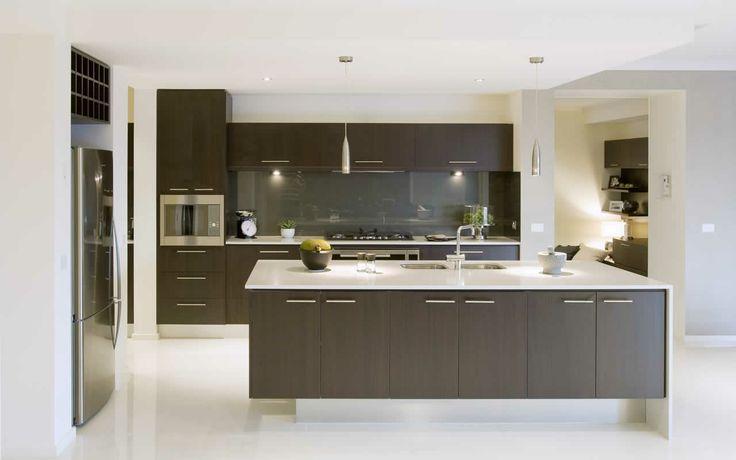 Australian open plan kitchen
