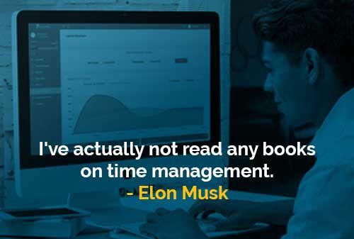 Tidak Membaca Buku Tentang Manajemen Waktu