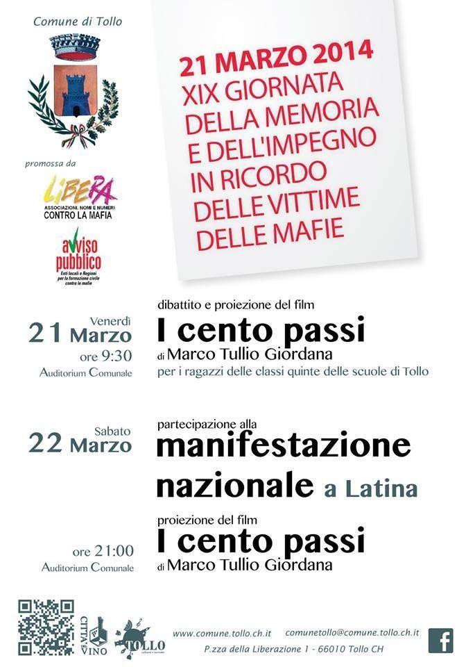 Eventi a Tollo a Marzo.