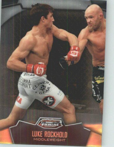 2012 Topps Finest UFC #29 Luke Rockhold - Mixed Martial Arts Trading Card (Ultimate Fighting Championship / MMA)(Baseball Cards) by Topps Finest UFC. $1.03. 2012 Topps Finest UFC #29 Luke Rockhold - Mixed Martial Arts Trading Card (Ultimate Fighting Championship / MMA)(Baseball Cards)