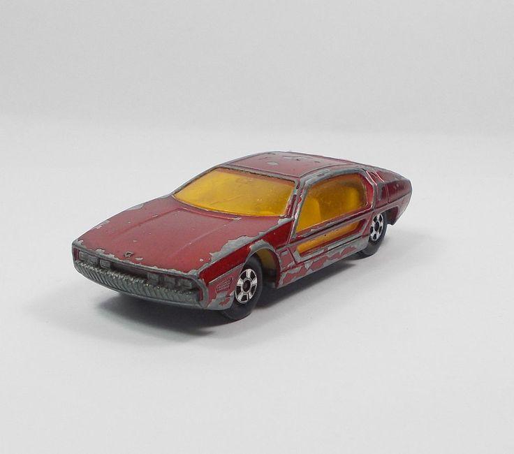 Matchbox / Lesney - Lamborghini Marzal No. 20 - Die-cast Model Toy Car 1969 (1)
