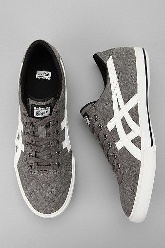 I think my son would like these. Asics Rotation 77 Chambray Sneaker $70.00