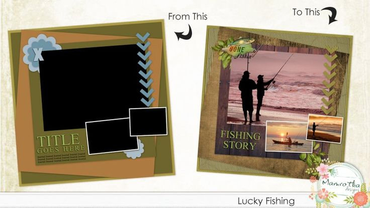 Lucky Fishing Quick Click Template 1