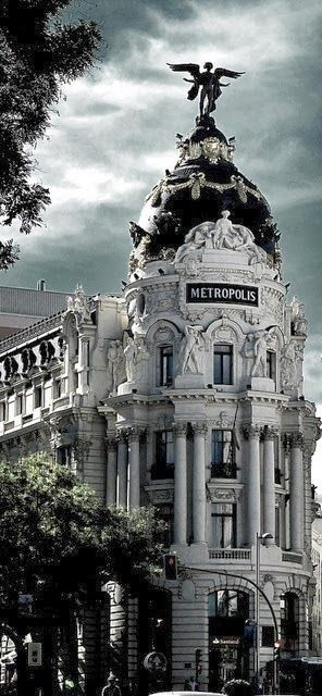 Madrid, metropolis Calle Gran I would love to see the whole country