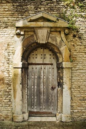 Ancient Castle Door, France