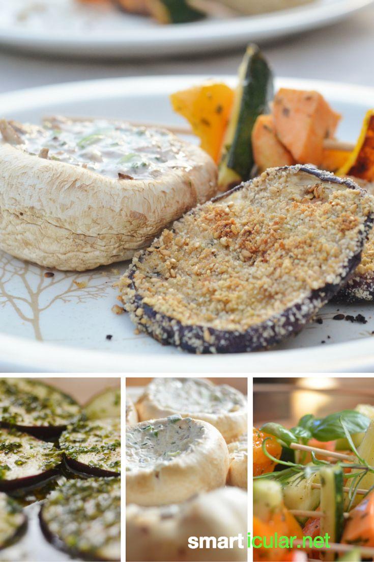 Grillen ohne Fleisch - Einfache und leckere Rezept-Ideen für Veganer und Vegetarier.