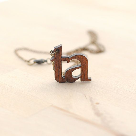 Ta Yorkshire Necklace  Yorkshire Slang  Nickel by Onetenzeroseven