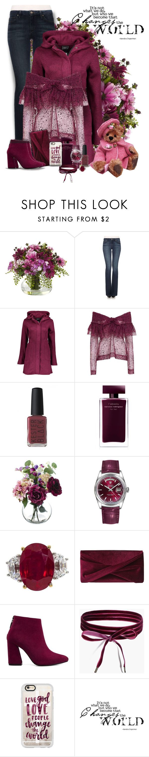 """""""Casual"""" by sugerpop ❤ liked on Polyvore featuring Joe's Jeans, Isa Arfen, Kester Black, Narciso Rodriguez, Rolex, Reiss, Boohoo and Casetify"""