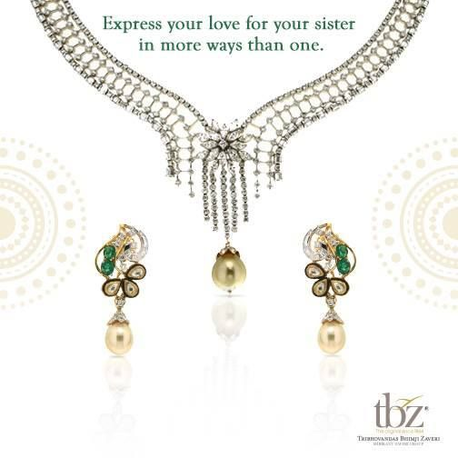 Dear brothers, this one's for you. #HappyBhaiDooj #TBZ #Jewellery #FestiveSeason #FestivalOfLights #Gold #Diamond #Gift