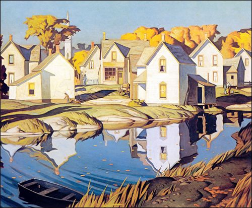 A J Casson.. a painter in the group of seven.