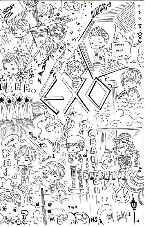 Imagen de exo, exo-m, and exo-k