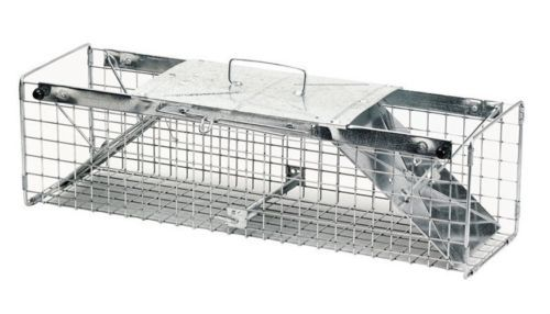 Vintage Traps 71143: Havahart Live Animal Trap 24 In. X 7 In. X 7 In. Medium Animals BUY IT NOW ONLY: $42.43