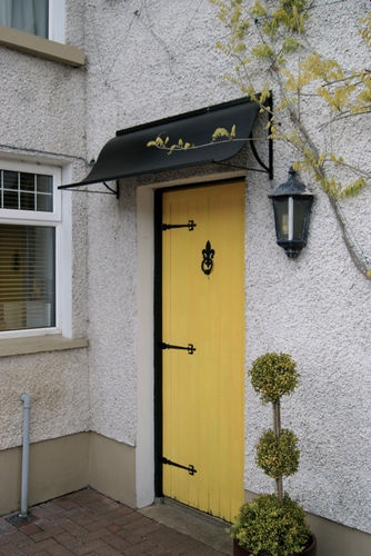Door Canopy Awning, Porch canopy, ideal front and back door shelter made in UK