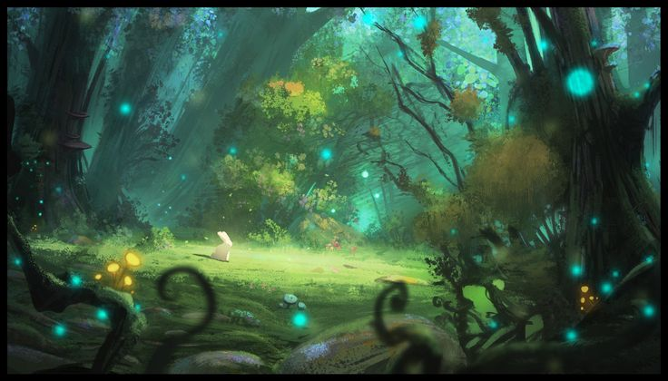 ArtStation - Forest, Vincent Lebocey