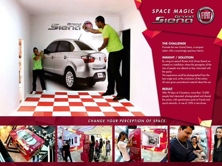 Adeevee - Space Magic Fiat Grand Siena: Change your perception of space