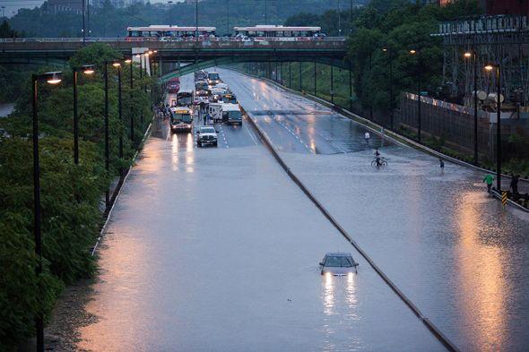 15 harrowing moments from the Toronto rain storm (July 8, 2013)