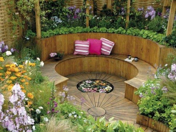 astounding garden seating ideas native design | garden corner seating ideas - Google Search | Garden ...
