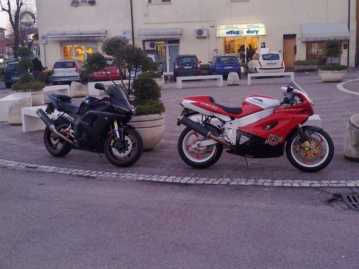 Yamaha R6 '05 & Bimota YB11
