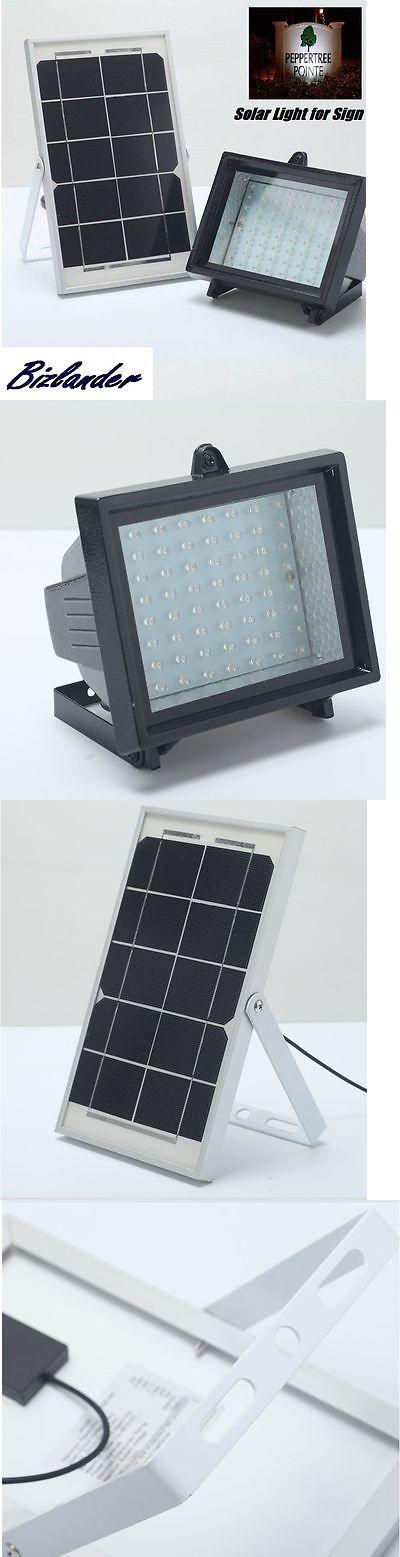 farm and garden: Bizlander® 60Led Solar Flood Light For Sign Security Home Garden Landscaping Slk BUY IT NOW ONLY: $59.99