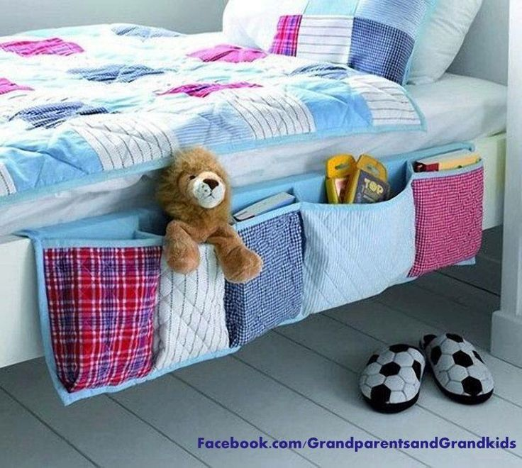 Cute idea for toddler bed