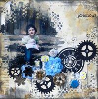 Precious- 3rd eyes stamps - Scrapbook.com