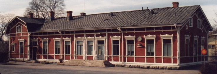 Rauma's old railway station.