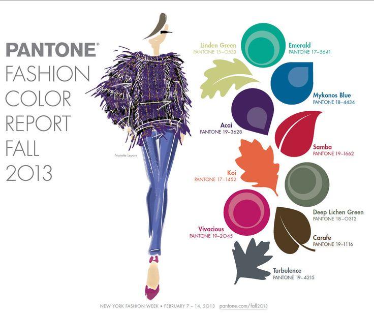 #Pantone colori autunno-inverno 2013-2014 #alyki