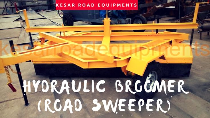 Kesar Road Equipments Exporter And Manufacturer Of Hydraulic Broomer (Road Sweeper) In Gujarat, India