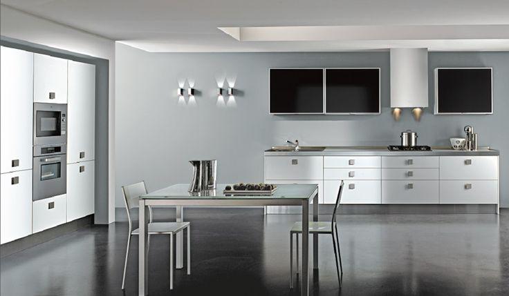 ... Bianco su Pinterest  Cucine bellissime, Cucine in bianco e nero e