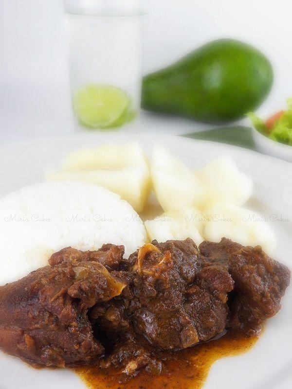 Chivo Guisado Dominicano