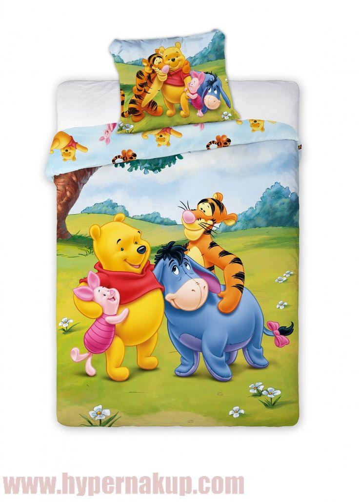 Detské posteľné obliečky Disney Macko pú Pooh  100 x 135 cm