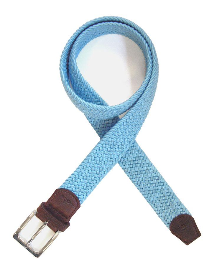 Ceinture tressée bleu ciel, http://www.cravate-avenue.com/ceintures-homme-tressee-cuir-achat-vente/5512-ceinture-tt-tressee-bleu-clair.html #ceinture #tressée #tyler #mode #homme #achat #bleu #ciel
