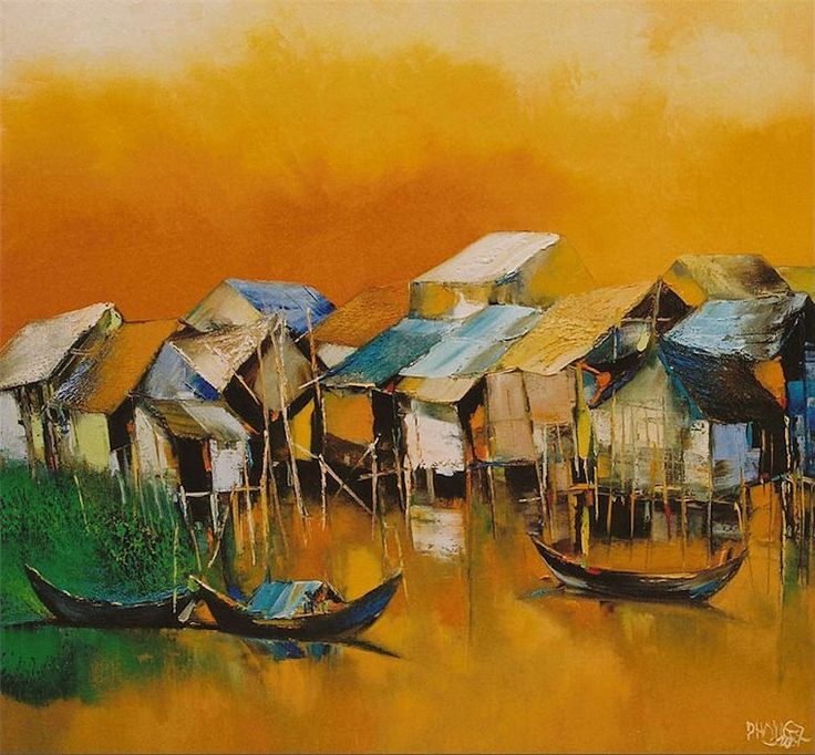 DAO HAI PHONG http://www.widewalls.ch/artist/dao-hai-phong/ #contemporary  #art  #painting