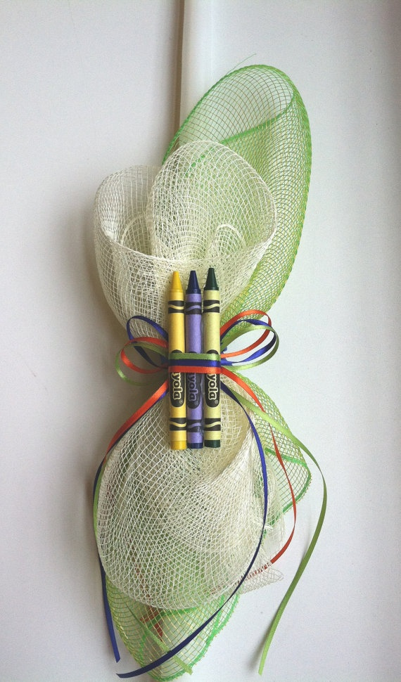 Colorful Crayons Pascha Lambatha / Easter by MyLittleDetailsShop, $20.00